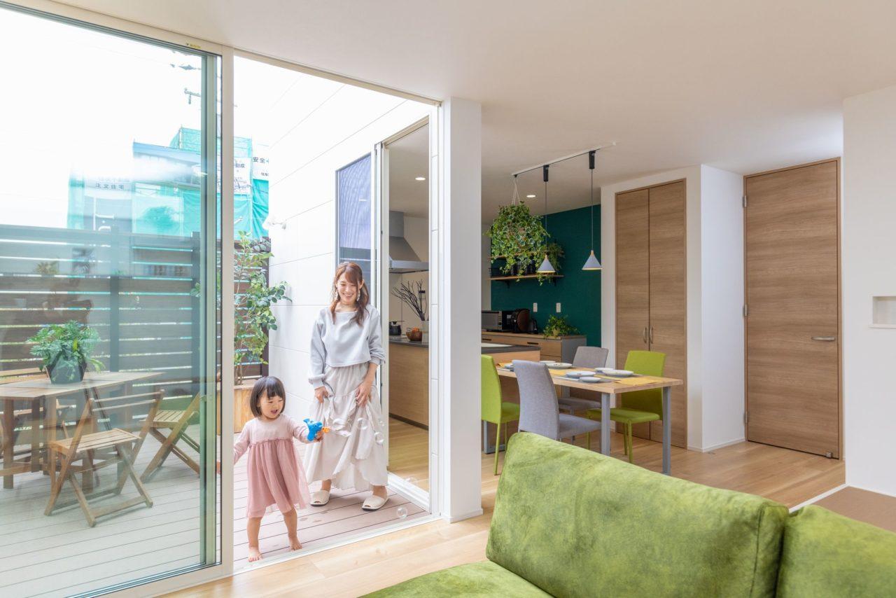 中庭で暮らすママコエの家 モデルハウス公開中